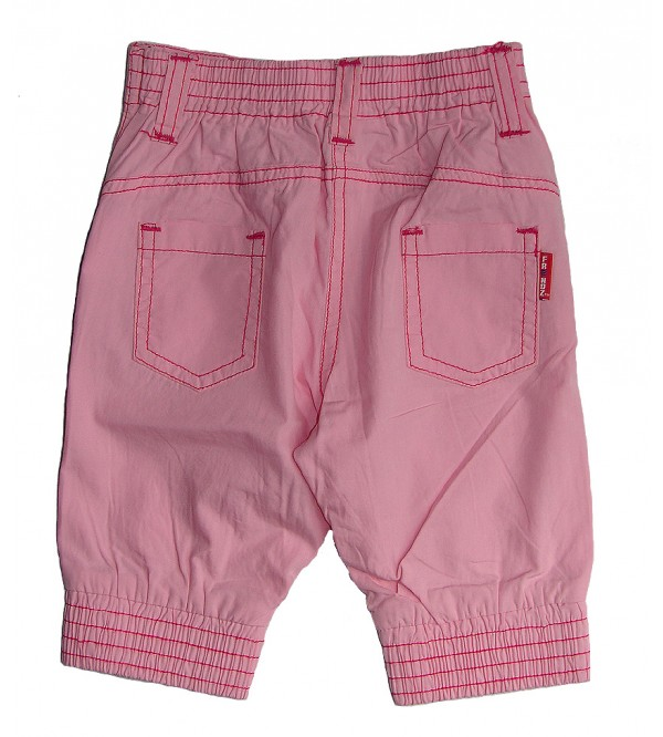 Baby Girls Denim Woven Shorts