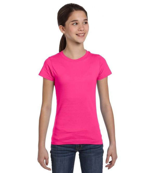 Girls Crew Neck T Shirts