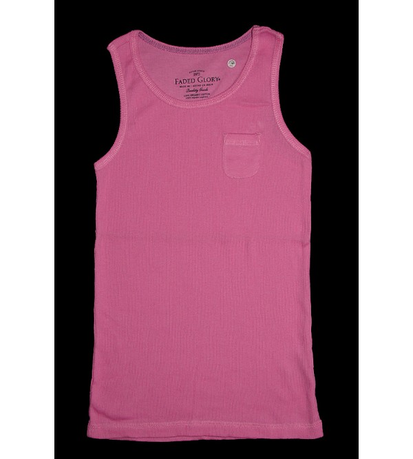 Girls Vest (Organic Cotton)