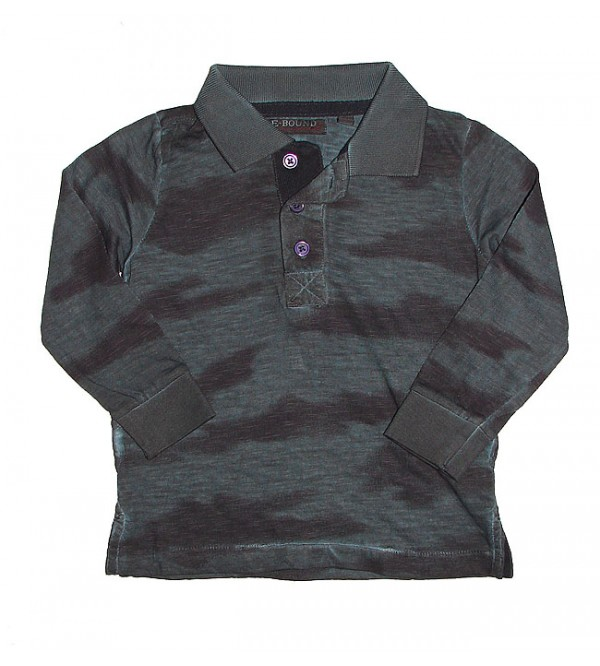 Boys Cold Pigment Dyed Polo