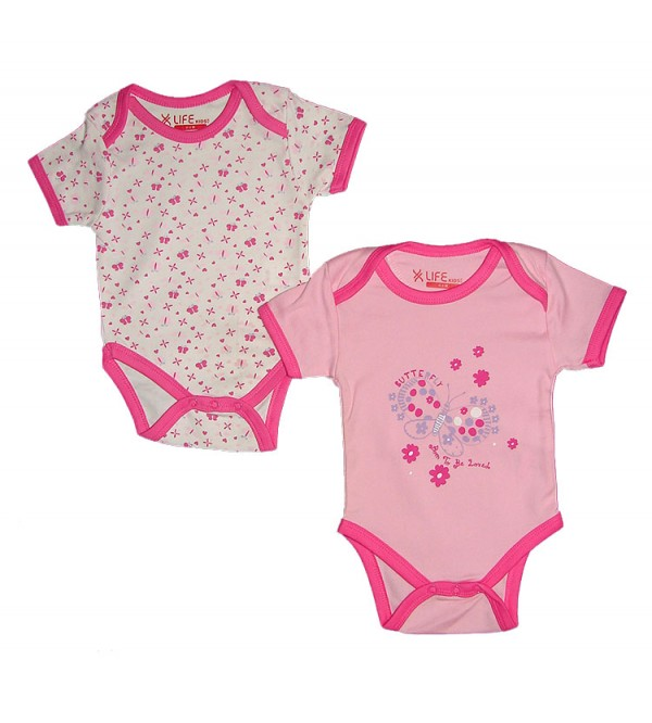 Baby Printed Bodysuits (2 pc Hanger Pack)