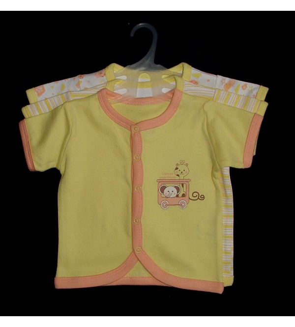 Baby Girls Printed Cardigans (3 pc Pack)