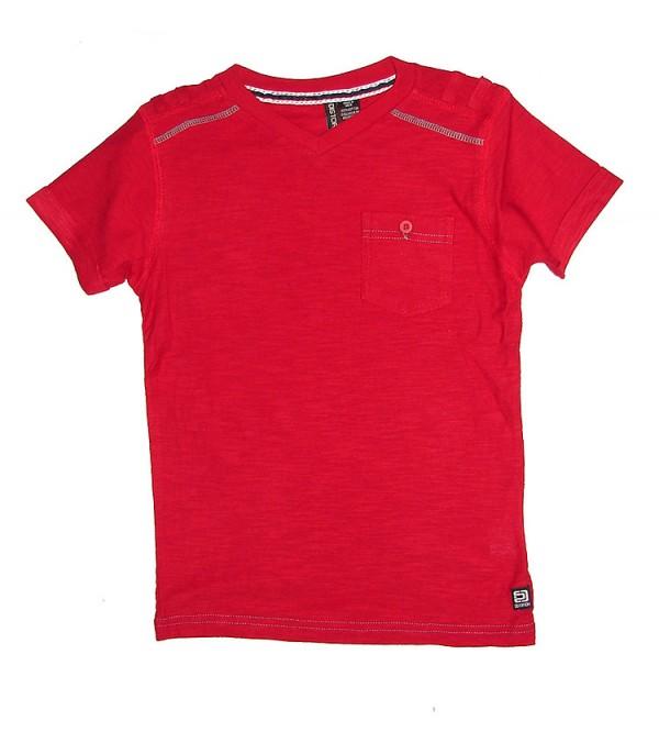 Boys V neck Fancy T Shirt