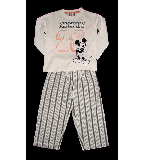 Boys Printed 2 Pc Sets (Knitted Top + Woven Pant)