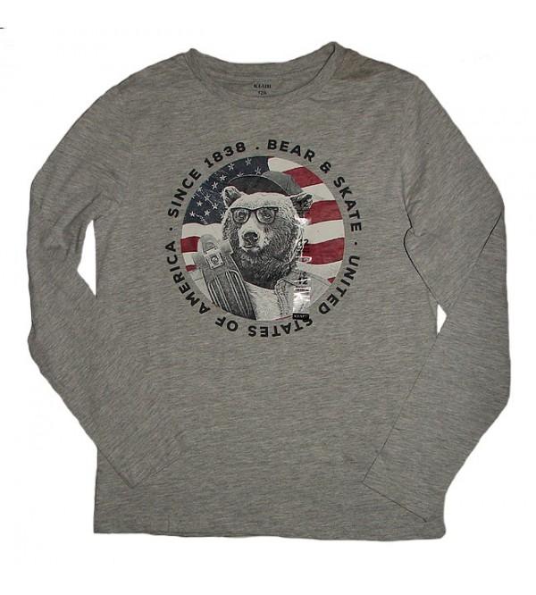 Boys Longsleeve Printed T Shirt