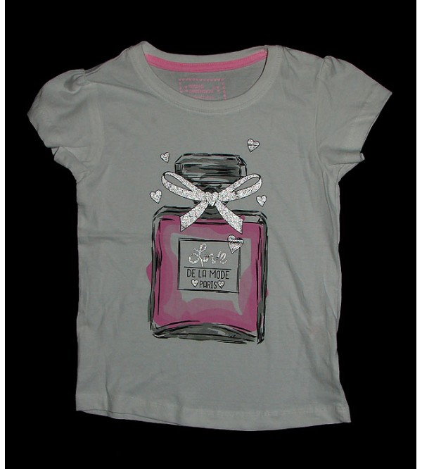 Girls Printed T Shirt