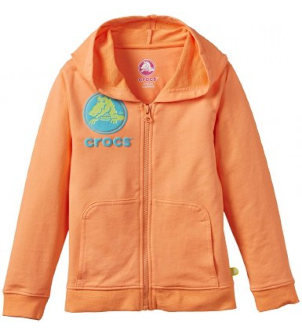 Girls Hooded Sweatshirt With Full Zipper