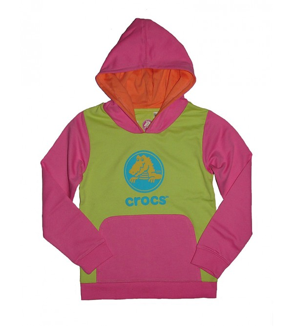 Girls Hooded Pullover Sweatshirt