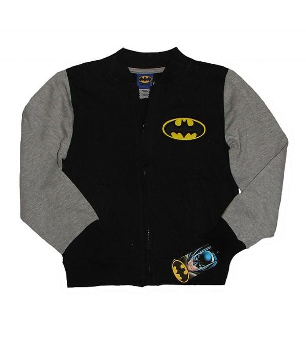 Boys Printed Fleece Full Zipper Sweatshirt (Hanger Packed)