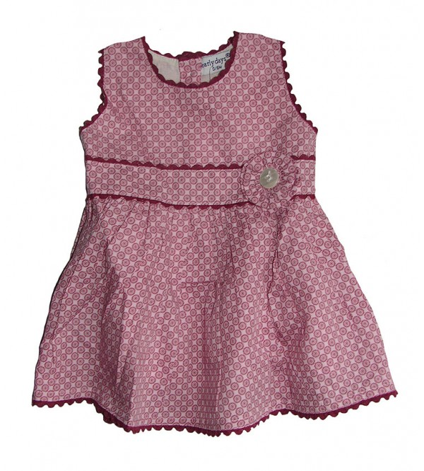 Baby Girls  Allover Printed Woven Dress