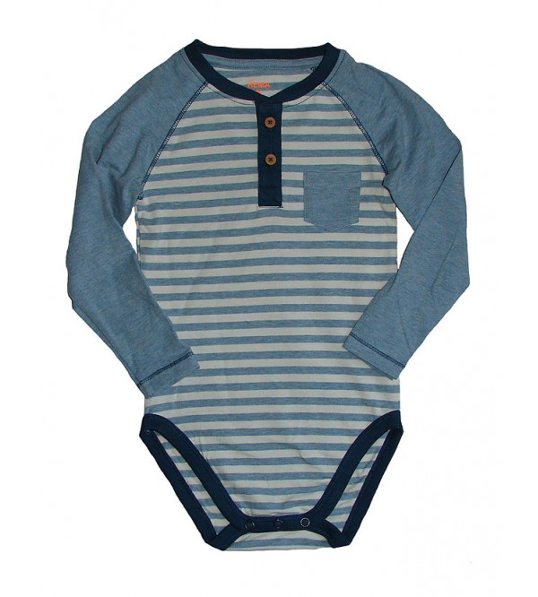 Baby Fancy Stretch Long Sleeve Bodysuits