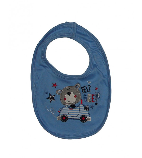 Assorted Baby Boys Bibs (Two Ply)