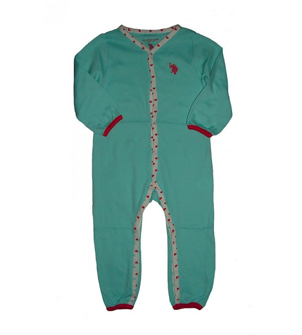 USPA Baby Printed n Striped Play suits