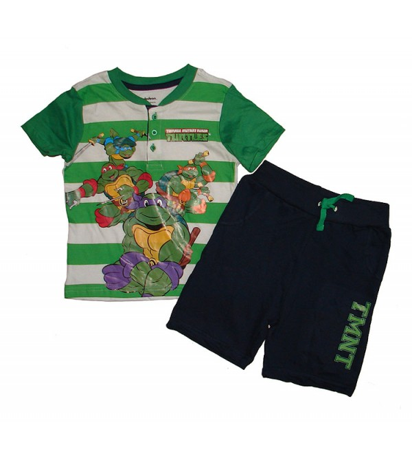 Character Printed Boys Shorty Set