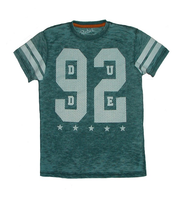 Boys Printed Washed T Shirt