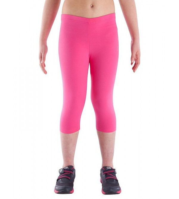 Girls Stretch Gym Cropped Bottoms
