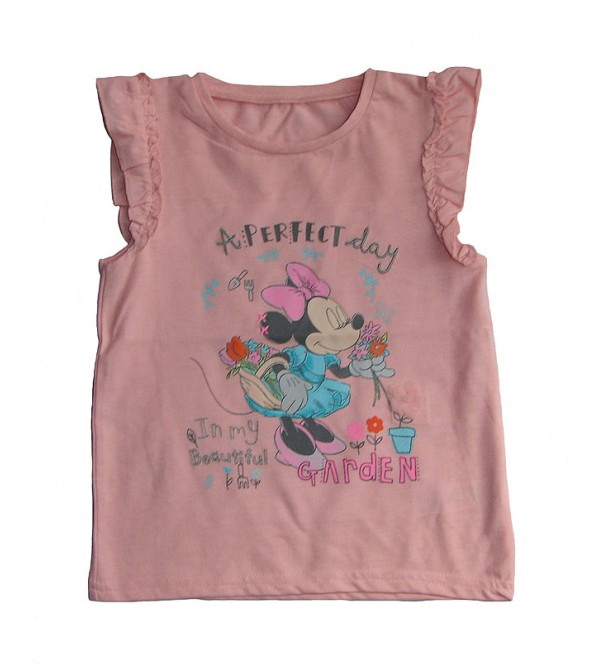 Girls Sleeveless Printed Tops