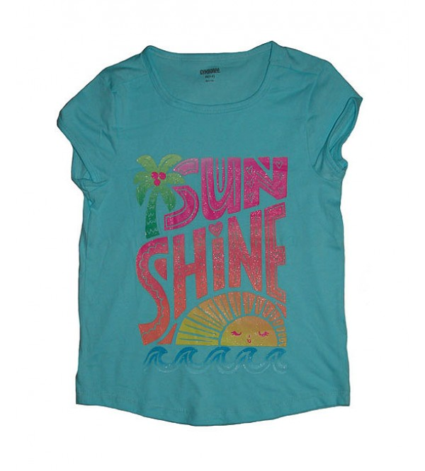 Sunshine Girls glitter print T-Shirt