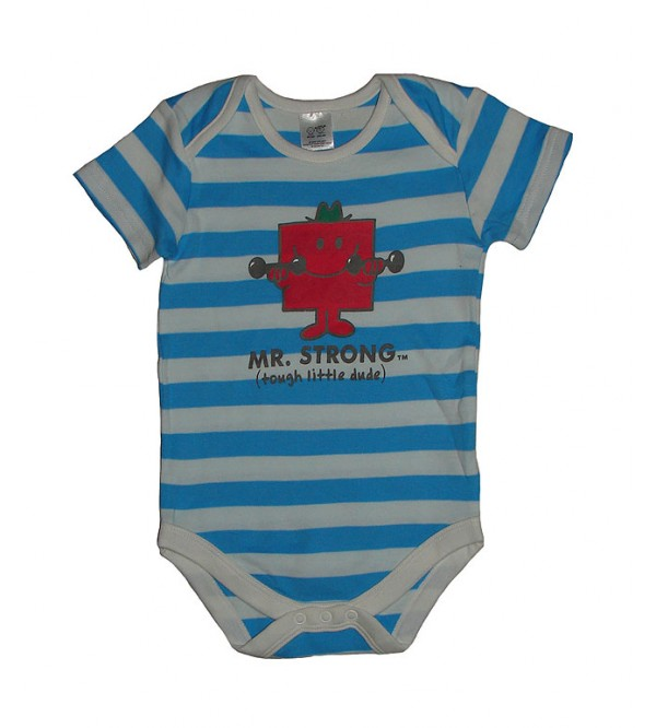 Branded Baby Striped Bodysuits
