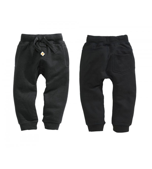 Boys Brushed Fleece Knit Joggers