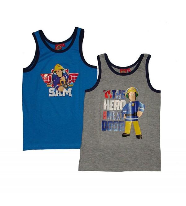 Boys Pack of 2 Printed Vests