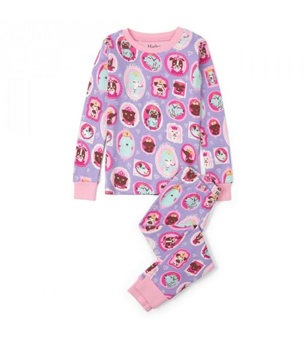 Kids Printed Snug Pyjama Sets