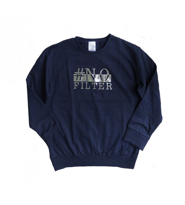 Girls Printed French Terry Pullover Sweatshirts