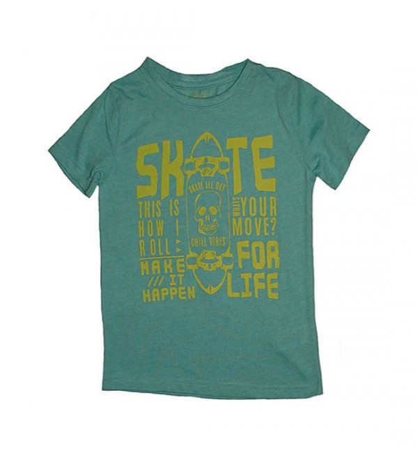 Boys Printed T Shirt