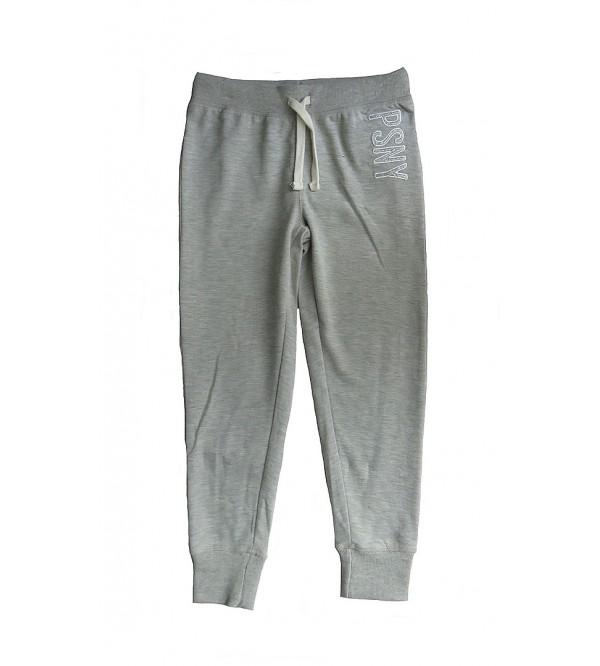 Girls French Terry Active Jogger Pants