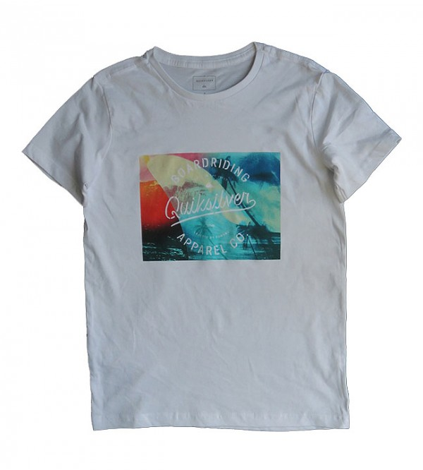 Boys Short Sleeve Printed T Shirt