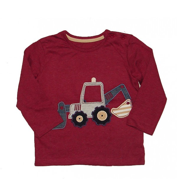 Baby Boys Long Sleeve Printed T Shirt