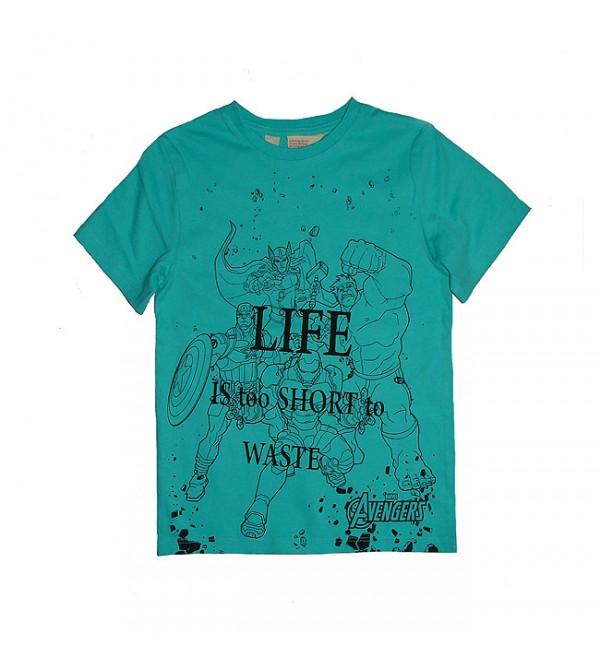 Avengers Boys Printed T Shirt
