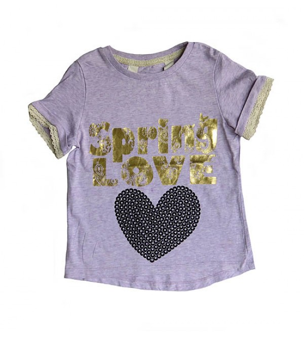 FROZEN Girls Short Sleeve Printed T Shirt
