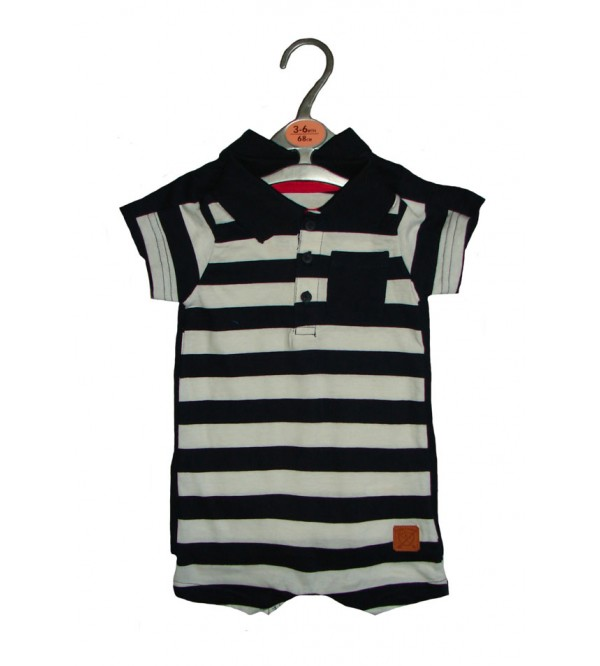 Baby Boys 2 pc Hanger Pack Playsuits