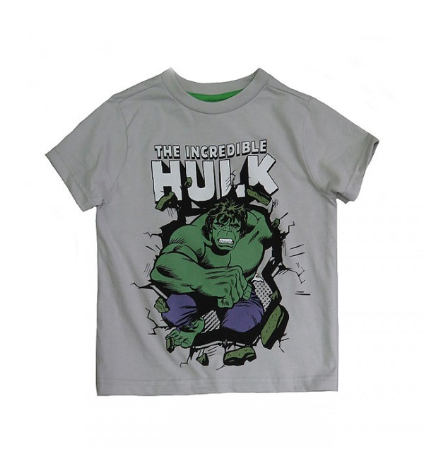 Hulk Boys Printed T Shirt