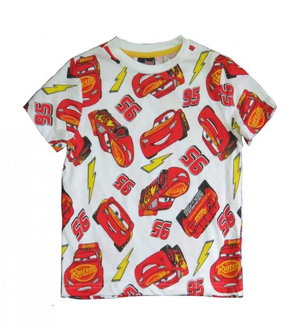 Cars Boys Printed T Shirt