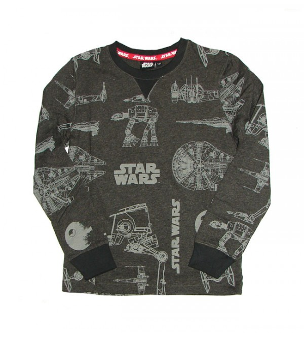 Star Wars Boys Longsleeve Printed T Shirt