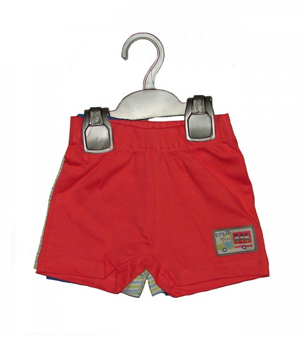 Baby Boys 3 pcs Pack Knit Shorts