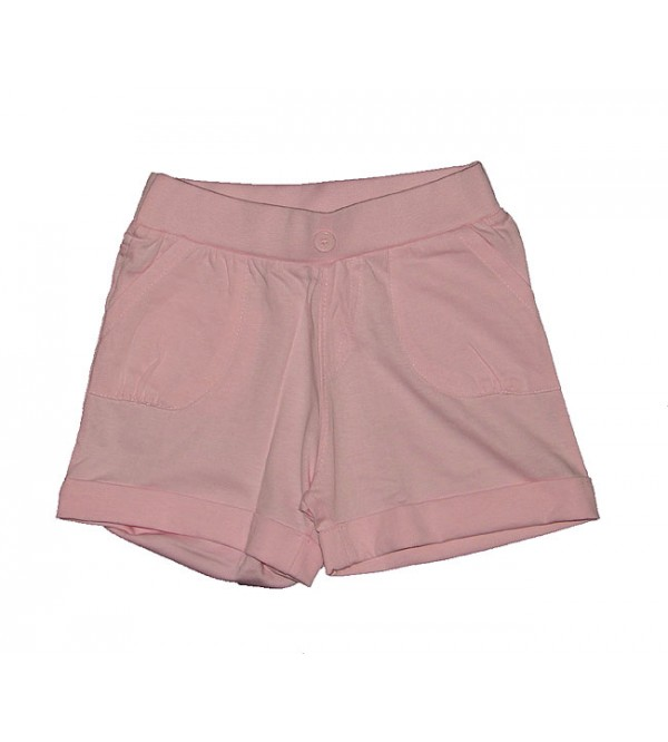 Girls knit shorts.