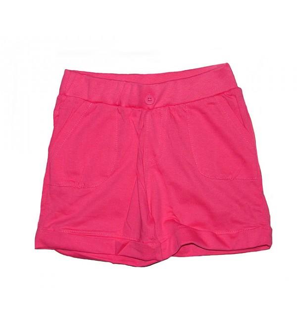 Girls knit shorts.