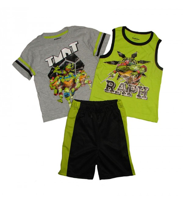 Ninja Turtle Boys 3 pcs Shorty Sets
