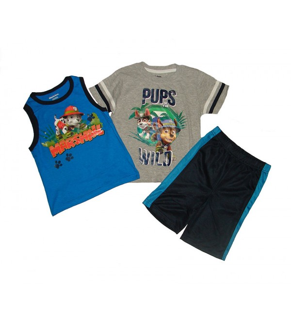 nickelodeon Boys 3 pcs Shorty Sets