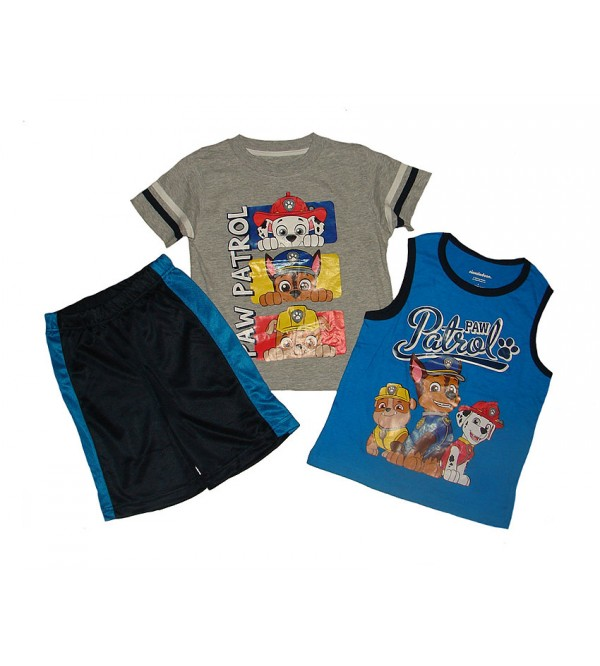 PAW PATROL  Boys 3 pcs Shorty Sets