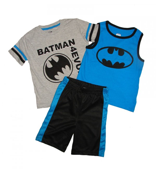 BATMAN Boys 3 pcs Shorty Sets