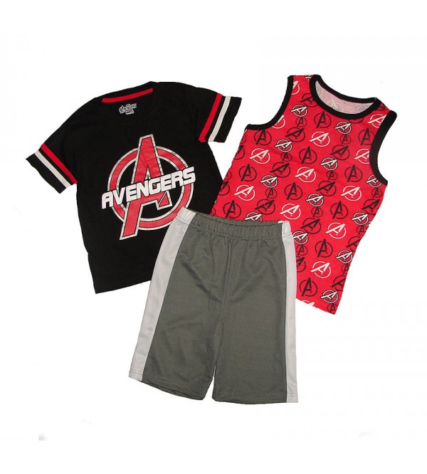 AVENGERS Boys 3 pcs Shorty Sets