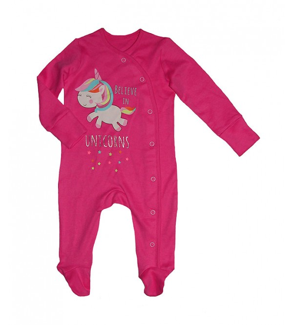 Baby Printed Long Sleeve Sleepsuits