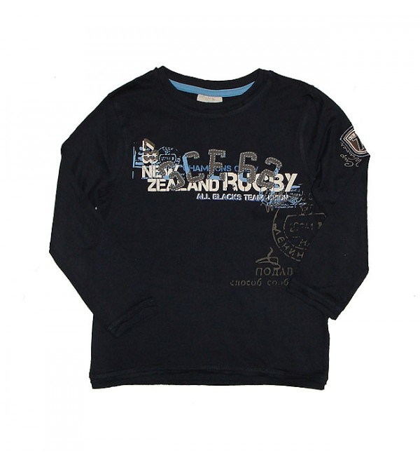 Boys Long Sleeve Printed T Shirt