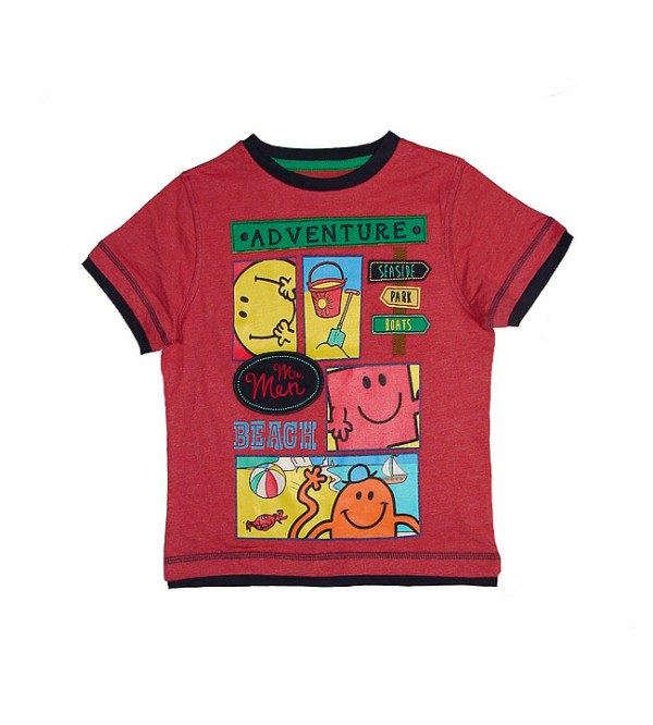 Mr Men Boys T Shirt
