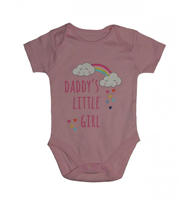 Baby Short Sleeve Printed Rompers