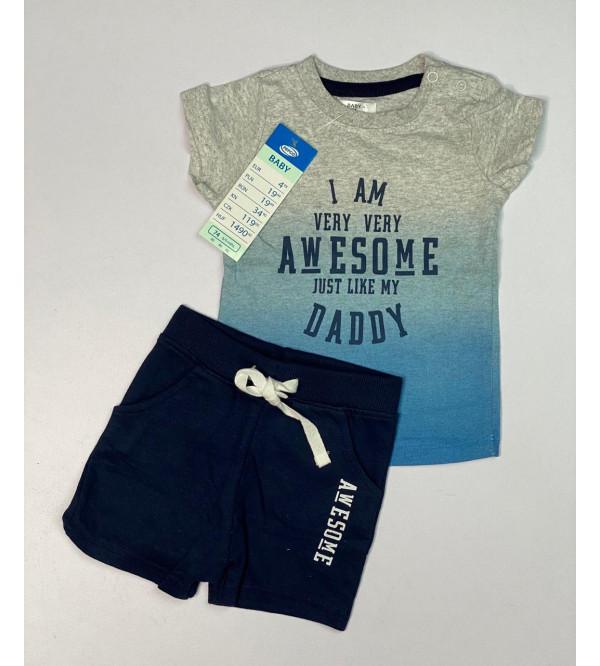 Baby Boys Shorty Pyjama Sets